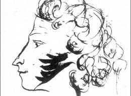 Пушкин. Автопортрет