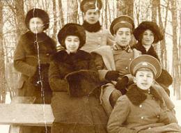 гимназисты начала ХХ века