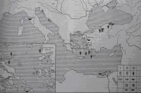 Основные центры-экспортеры товаров в Северное Причерноморье (по И. Б. Брашинском